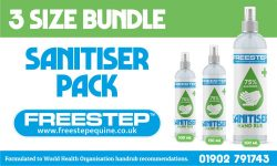 Sanitiser 3 size bundle