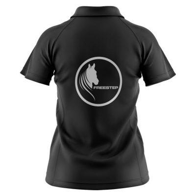 Ladies Polo Black (Rear)
